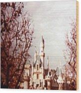 Disneyland 1977 Wood Print