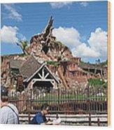 Disneyland Park Anaheim - 121218 Wood Print