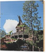 Disneyland Park Anaheim - 121220 Wood Print