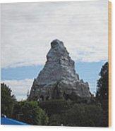 Disneyland Park Anaheim - 12123 Wood Print