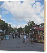 Disneyland Park Anaheim - 121231 Wood Print