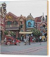 Disneyland Park Anaheim - 121232 Wood Print