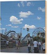 Disneyland Park Anaheim - 121235 Wood Print