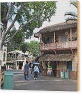 Disneyland Park Anaheim - 12124 Wood Print