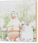 Disneyland Park Anaheim - 121245 Wood Print