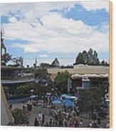 Disneyland Park Anaheim - 121250 Wood Print