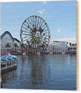 Disneyland Park Anaheim - 121252 Wood Print