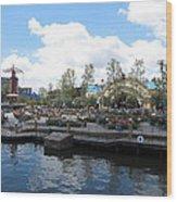 Disneyland Park Anaheim - 121255 Wood Print