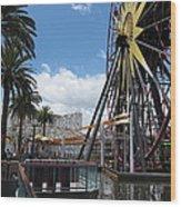 Disneyland Park Anaheim - 121257 Wood Print