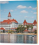 Disney's Grand Floridian Resort And Spa Wood Print