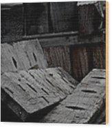 Disorder Wood Print