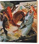 Display Fish Wood Print