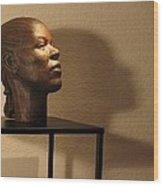 Display Sculpture - 2 Wood Print by Flow Fitzgerald
