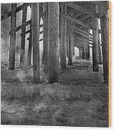 Dissipation  Wood Print