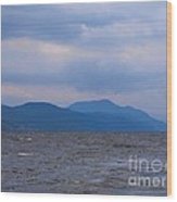 Distant Hills At Loch Ness Wood Print