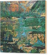 Distant Lands Wood Print