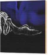 Distant Memory Wood Print by Corina Bishop