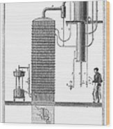 Distillation, 19th Century Wood Print