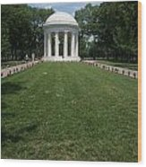 District Of Columbia War Memorial Wood Print