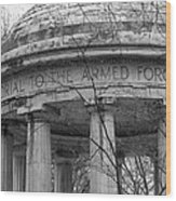 District Of Columbia World War I Memorial Wood Print