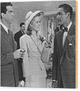 Dive Bomber, From Left, Fred Macmurray Wood Print