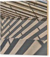 Divergent  Darkness Wood Print