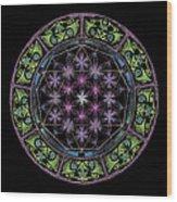 Divine Feminine Energy Wood Print