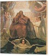 Divine Genesis Wood Print