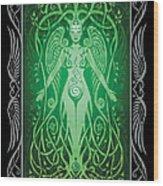 Divine Life V.2 Wood Print by Cristina McAllister