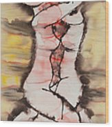 Divine Love Series No. 1412 Wood Print