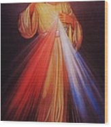 Divine Mercy Big File Wood Print