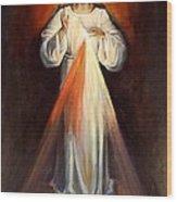 Divine Mercy II Wood Print