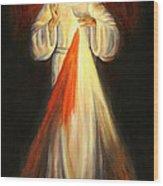 Divine Mercy Wood Print