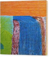 Divine Mystery Wood Print