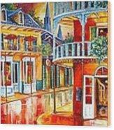 Divine New Orleans Wood Print