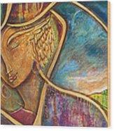 Divine Wisdom Wood Print