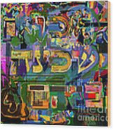 Divinely Blessed Marital Harmony 39 Wood Print