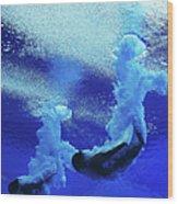Diving - 15th Fina World Championships Wood Print