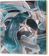 Diving Into Your Ocean 3 Wood Print