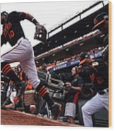 Division Series - Detroit Tigers V Wood Print