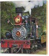 Dixiana Engine 2 Wood Print