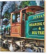 Dixiana Engine 3 Wood Print