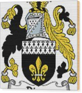 Dixon Coat Of Arms Irish Wood Print