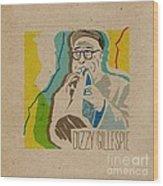 Dizzy Gillespie Wood Print