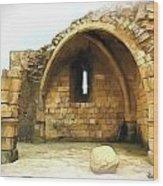 Do-00427 Citadel Of Sidon Wood Print