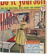 Do it yourself 1959 1950s uk magazines poster by the advertising do it yourself 1959 1950s uk magazines wood print solutioingenieria Gallery