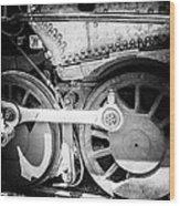 Do The Locomotive With Me Wood Print
