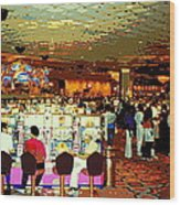 Do You Come Here Often ? Casino Slot Machine Pick Up Lines As You Gamble Your Life Savings Away Wood Print
