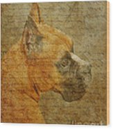 Do You Remember Me? Wood Print by Judy Wood
