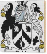 Dobb Coat Of Arms Irish Wood Print